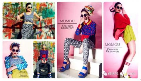 Momou的IFA Paris毕业Lookbook(部分)